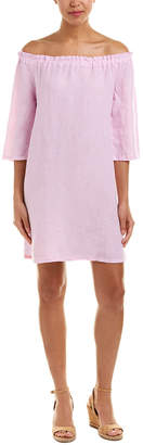 Allen Allen Linen Shift Dress