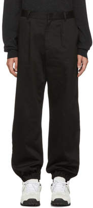 Givenchy Black Japanese Combat Trousers