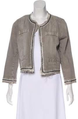 Current/Elliott Embellished Open Front Jacket w/ Tags