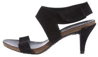 Pedro Garcia Suede Ankle Strap Sandals