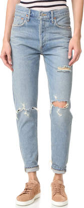 AGOLDE Jamie High Rise Classic Jeans $148 thestylecure.com
