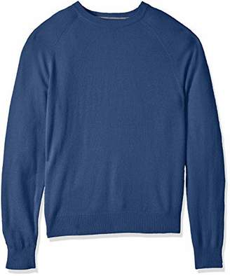 Buttoned Down Men's 100% Premium Cashmere Crewneck Sweater