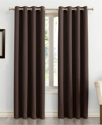 """Sun Zero Saxon 54"""" x 84"""" Blackout Curtain Panel"""