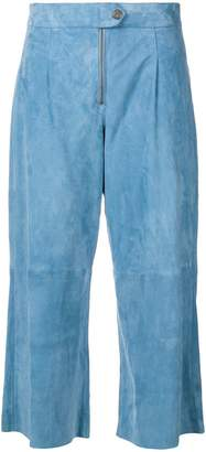 MiH Jeans Hather cropped trousers