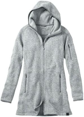 L.L. Bean Women's L.L.Bean Sweater Fleece Coat