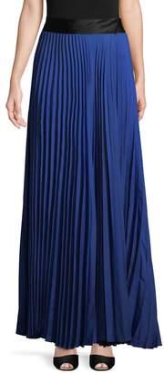 Diane von Furstenberg Women's Pleated Floor Length Skirt