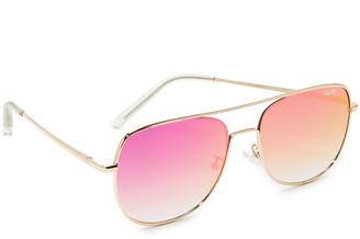 Quay Running Riot Sunglasses $55 thestylecure.com