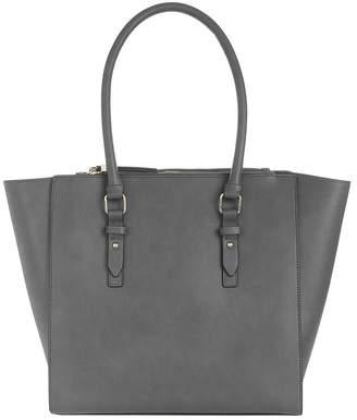 Accessorize Blair Shoulder Tote Bag - Grey