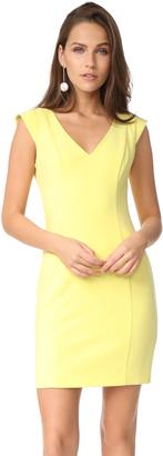 Black Halo Mattia Mini Dress $298 thestylecure.com