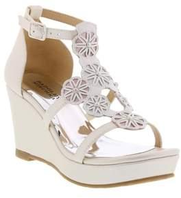 Badgley Mischka Sophia Flora Wedge Sandal