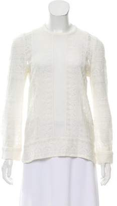 Isabel Marant Lace Long Sleeve Top