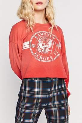 Daydreamer Ramones Crop Sweatshirt