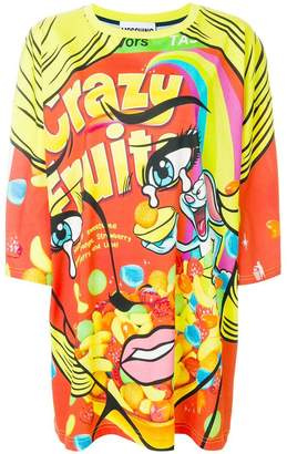 Moschino Crazy Fruit T-shirt dress