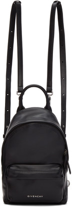 Givenchy Black Leather Nano Backpack $1,150 thestylecure.com