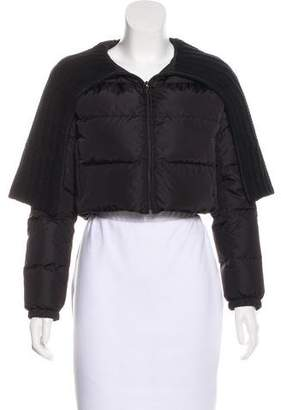 Prada Sport Cropped Down Jacket