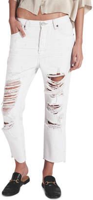 One Teaspoon Cococash Hooligans Low Waist Relaxed Straight Leg Jean