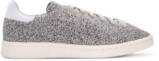adidas Grey Primeknit Stan Smith Sneakers