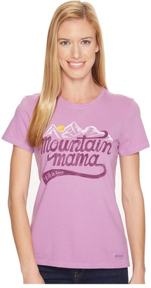 Life is Good Mountain Mama Landscape Crusher Tee $26 thestylecure.com