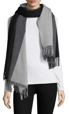 Donni Charm Colorblock Wool Blanket Scarf