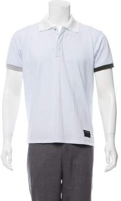 Marc Jacobs Woven Short Sleeve Polo w/ Tags
