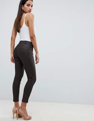 Salsa secret waist sculpting capri jeans with coating