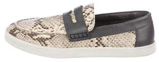 Just Cavalli Embossed Slip-On Sneakers
