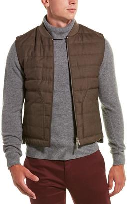 Brunello Cucinelli Wool Puffer Vest