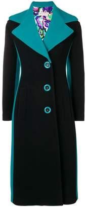 Emilio Pucci buttoned long coat