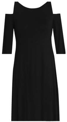 Bailey 44 Cold-Shoulder Slub Jersey Dress