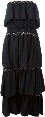 Sonia Rykiel strapless layered dress