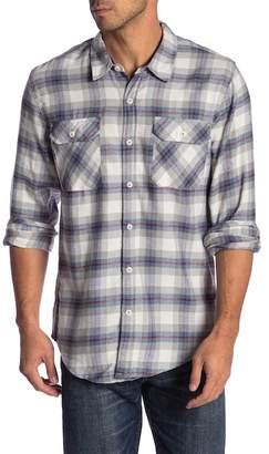Burnside Long Sleeves Flannel Shirts