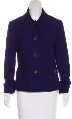 Dolce & Gabbana Wool-Blend Fitted Blazer