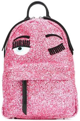 Chiara Ferragni Flirting glitter backpack
