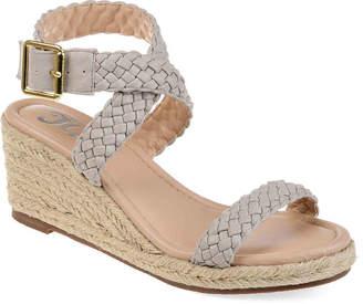Journee Collection Evolet Espadrille Wedge Sandal - Women's