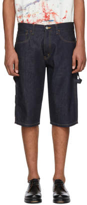 Junya Watanabe Indigo Levis Edition Denim Shorts