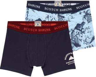Scotch & Soda 2-Pack Boxer Shorts