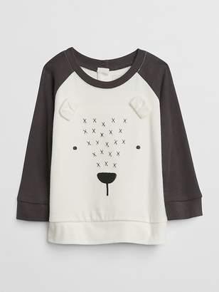 Gap Organic Bear Raglan T-Shirt