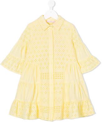 Miss Blumarine broderie anglaise dress