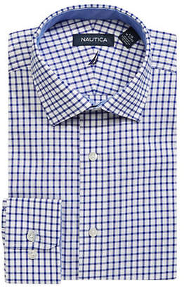 Nautica Long-Sleeve Classic Cotton Button-Down Shirt