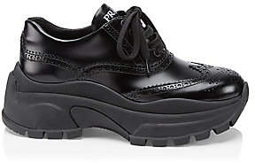Prada Women's Chunky Oxford Sneakers