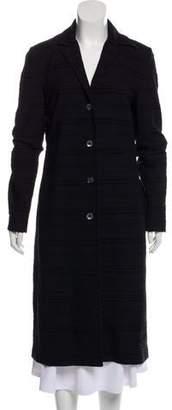 Dolce & Gabbana Jacquard Long Coat