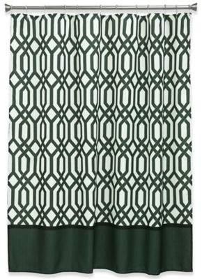 Theorem Shower Curtain in Black