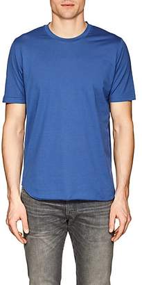 S.moritz Men's Cotton Jersey T-Shirt - Blue Size M