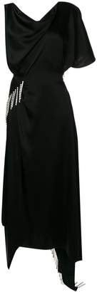 Christopher Kane crystal satin dress