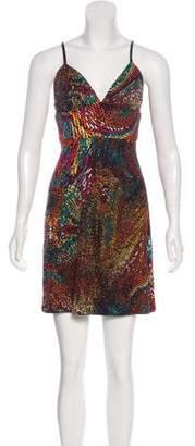 Trina Turk Printed Casual Mini Dress