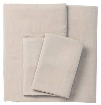 UGG 300 Thread Count Cream Melange Queen 4-Piece Sheet Set