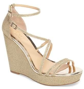 Badgley Mischka Tatsu Wedge Sandal (Women)