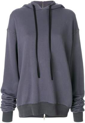 Unravel Project long-sleeve hooded sweater