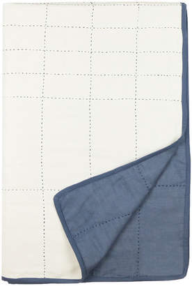 Anchal Project Small Organic Cotton Grid Throw