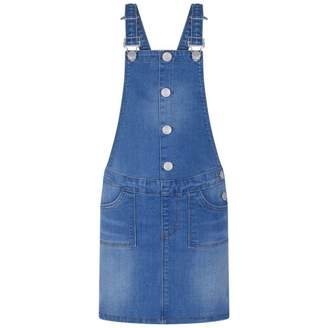 Esprit EspritGirls Blue Denim Pinafore Dress